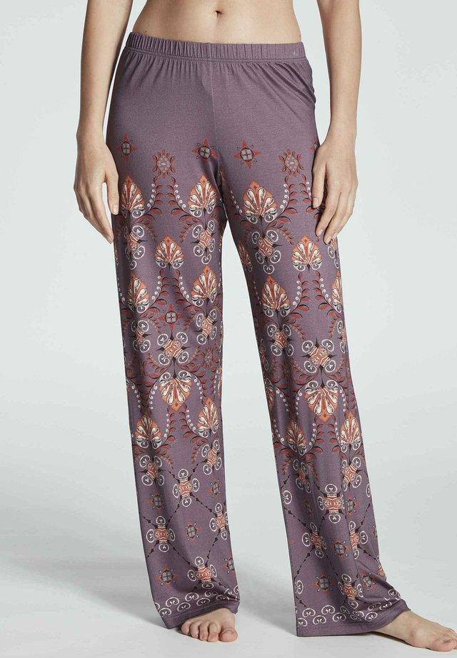 Trousers - smokey rose