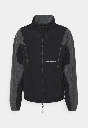 Giacca sportiva - black/iron grey/black/white