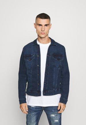 ONSCOME LIFE TRUCKER - Kurtka jeansowa - blue denim