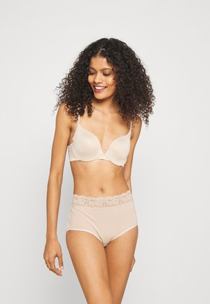 FULL BRIEF 5 PACK - Culotte - nude