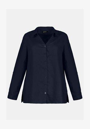 Leinen - Button-down blouse - marine