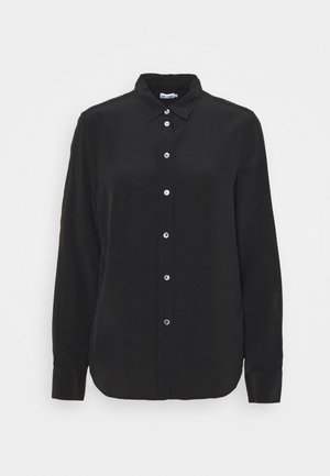 CLASSIC - Button-down blouse - black
