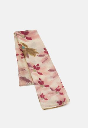 PRINTED SCARF WATER FLOWERS  - Sjal - light pink