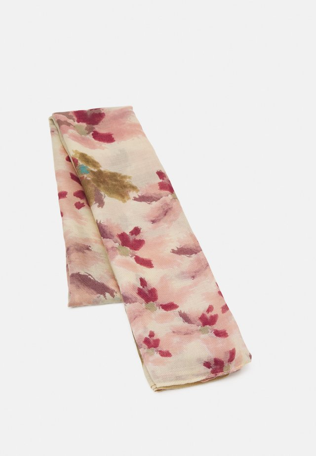 PRINTED SCARF WATER FLOWERS  - Sciarpa - light pink