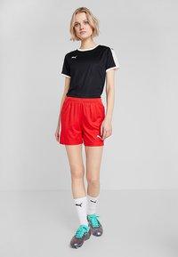 Puma - LIGA  - Pantalón corto de deporte - red/white - 1