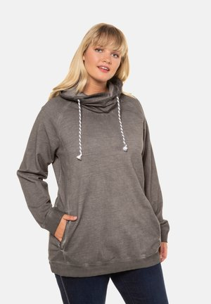 Sweatshirt - khaki-gray