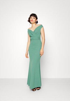 ANDREW OFF SHOULDER MAXI DRESS - Suknia balowa - sage green