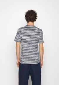Missoni - SHORT SLEEVE - T-shirt print - bianco/blu - 2