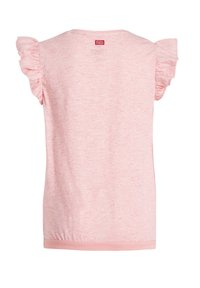 WE Fashion - T-shirt print - coral pink - 1