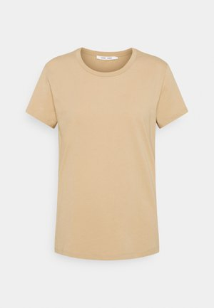SOLLY TEE SOLID - T-shirts basic - humus