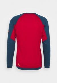Zimtstern - PUREFLOWZ MENS - Sports shirt - jester red/french navy - 1