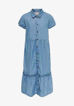 Shirt dress - medium blue denim
