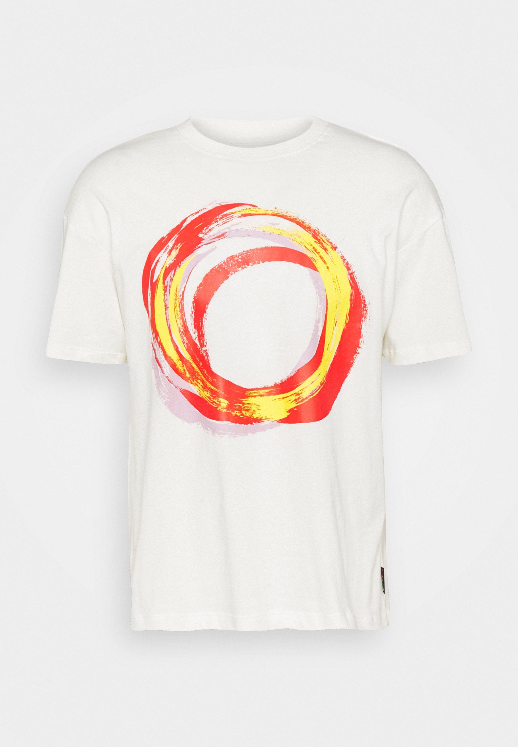 Men SHAPES BOX GRAPHIC TEE UNISEX - Print T-shirt
