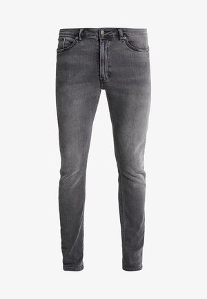 Vaqueros pitillo - grey denim