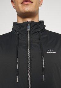 Armani Exchange - JACKET - Summer jacket - black - 6