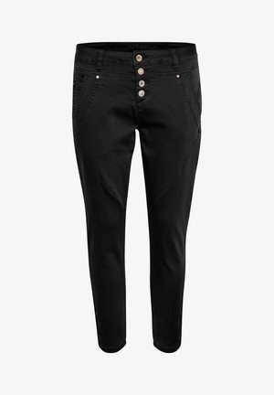 PENORACR TWILL - Trousers - pitch black unwashed