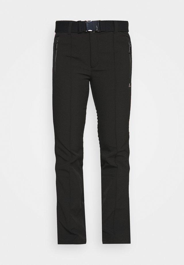 HAAPALA - Zimní kalhoty - black