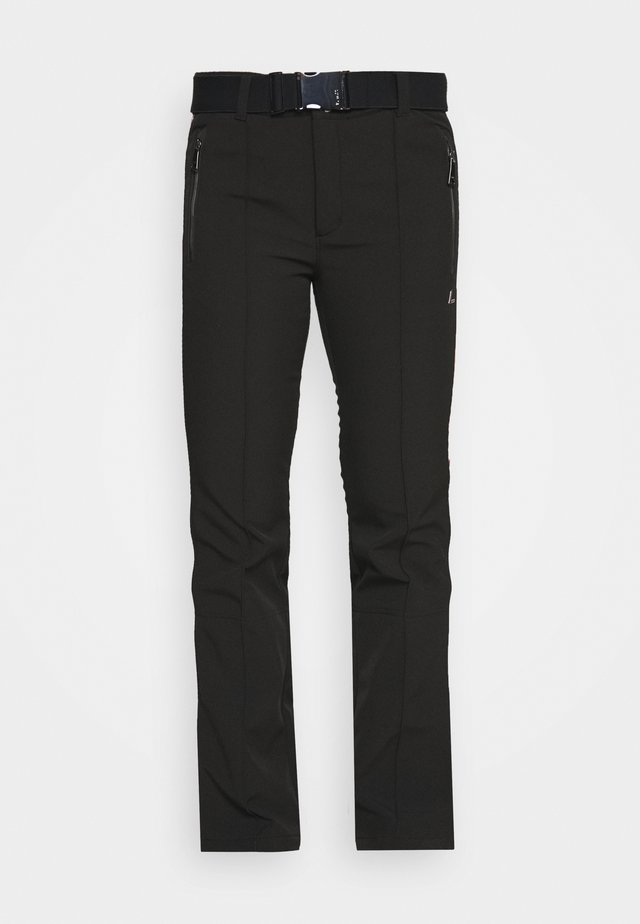 HAAPALA - Spodnie narciarskie - black