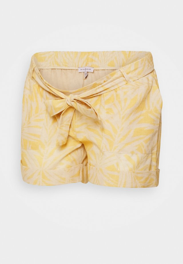 Shorts - white/yellow