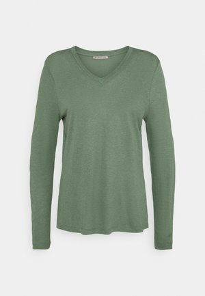 Topper langermet - light green