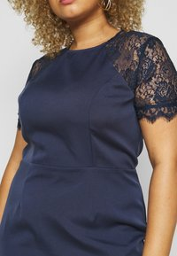 Chi Chi London Curvy - ARMILLA DRESS - Robe de soirée - navy - 5
