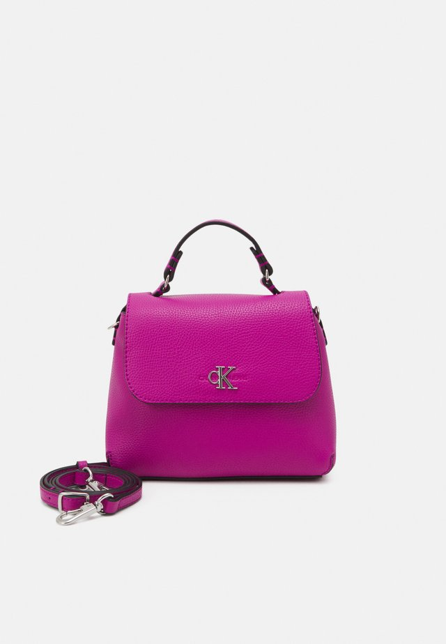 MINI TOP HANDLE - Borsa a mano - purple