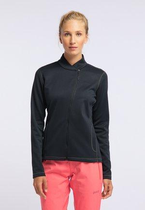 APPEAL - Fleece jacket - black