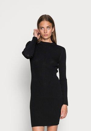 TECHNICAL DRESS - Jumper dress -  black