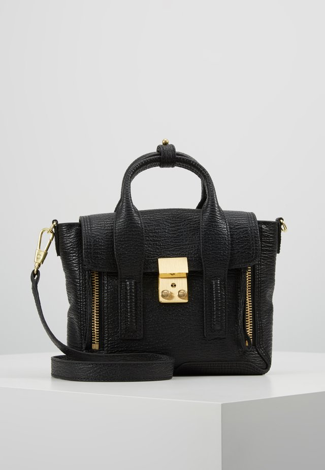 PASHLI MINI SATCHEL - Käsilaukku - black