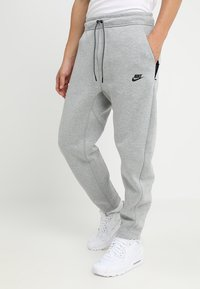 Nike Sportswear - PANT - Pantalon de survêtement - dark grey heather - 0