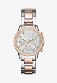 Armani Exchange - Zegarek chronograficzny - roségold-coloured/silver-coloured
