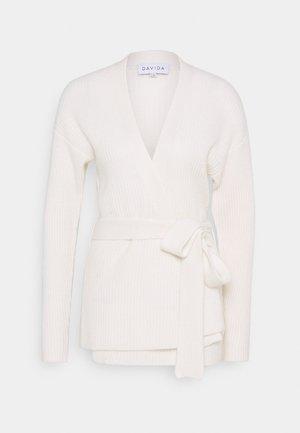 KIMONO - Vest - white