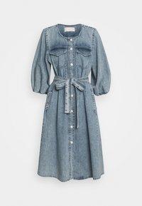BROOKE DRESS - Denim dress - light vintage wash