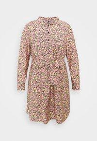 Vero Moda Curve - VMELLIE SHORT DRESS - Shirt dress - geranium pink - 3