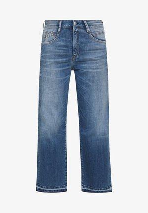 GILA SAILOR CROPPED - Jeans straight leg - mariana blue