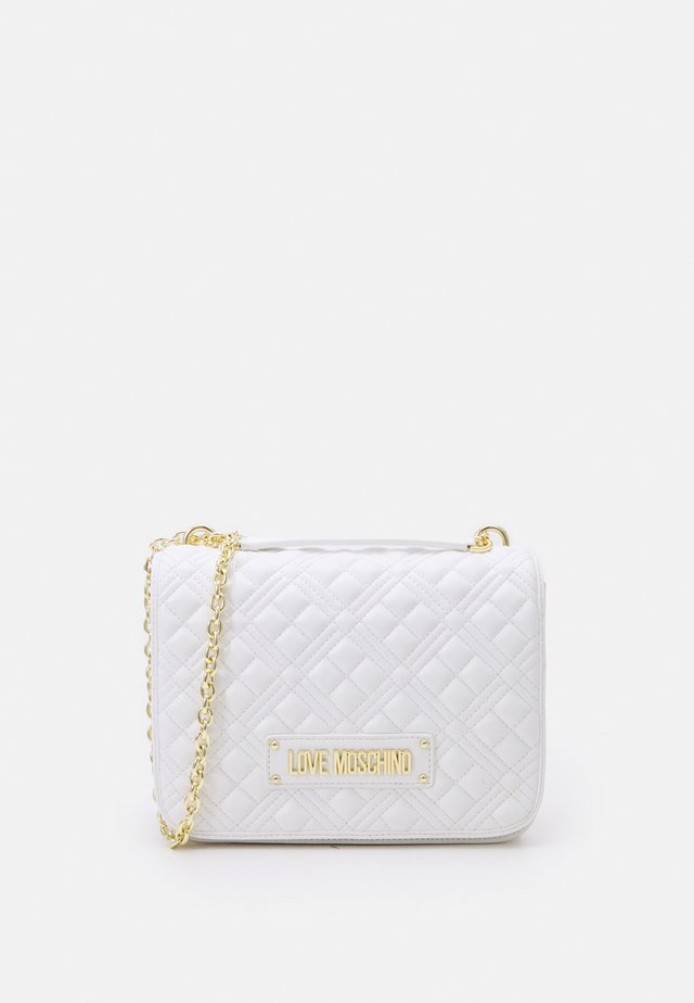 QUILTED SOFT - Across body bag - bianco