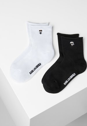 2-PAK - Socks - black/ white