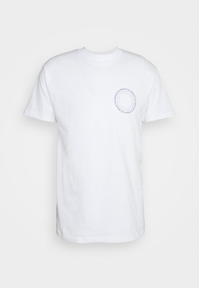 NEW PEACE TEE - T-shirt con stampa - white