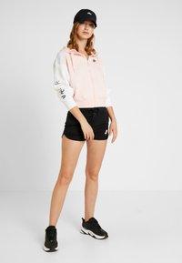 Nike Sportswear - Zip-up hoodie - echo pink/birch heather/white - 1