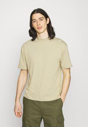 MOCK NECK RELAXED - T-shirt basic - khaki