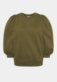 Gestuz - NANKITA - Sweatshirt - dark olive - 4
