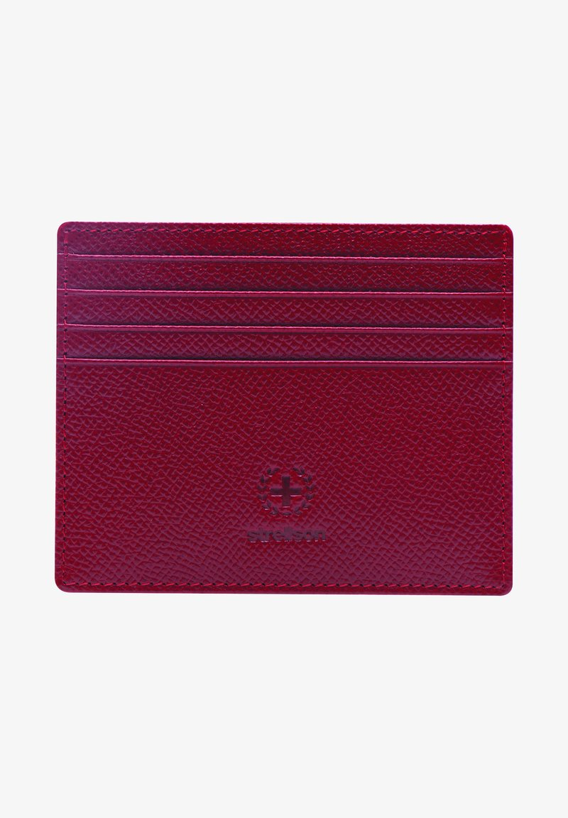 Strellson Premium - BECONTREE  - Business card holder - red