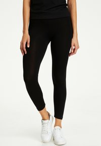 Kaffe - KAGILA  - Leggings - Trousers - black deep - 0