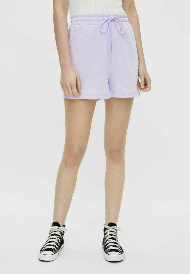Szorty - purple heather