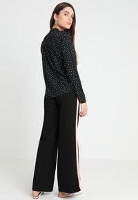 ICHI - VERA - Button-down blouse - black - 2