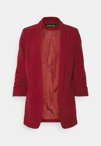 Pieces - PCBOSS - Short coat - biking red - 0