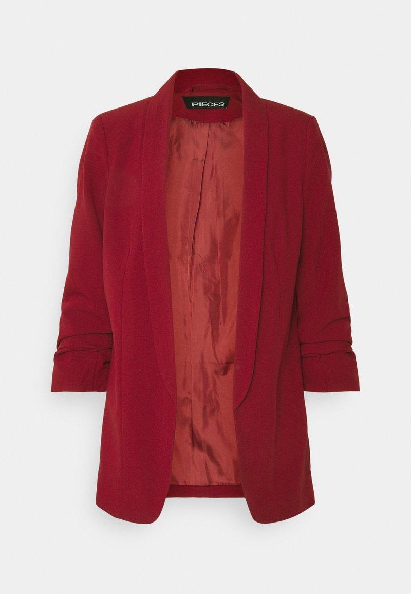 Pieces - PCBOSS - Short coat - biking red