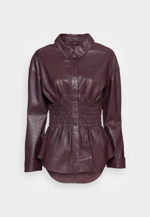 TALLY - Blouse - red wine