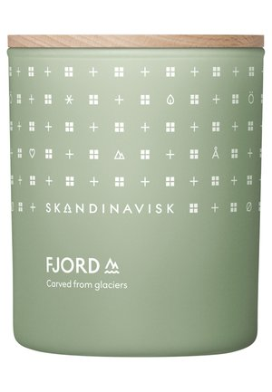 SCENTED CANDLE WITH LID - Duftkerze - fjord