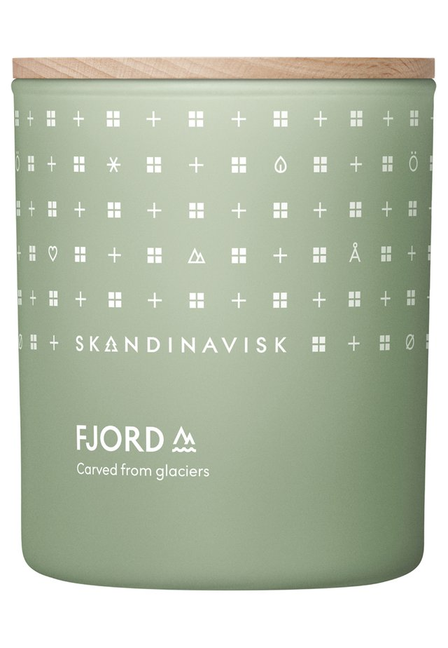 SCENTED CANDLE WITH LID - Bougie parfumée - fjord